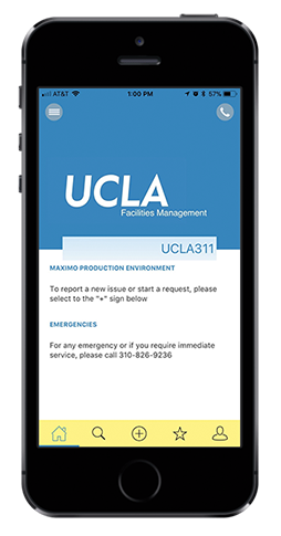 UCLA 311 Workorder App
